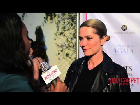 Katie Aselton at the 4th Annual Norma Jean Gala Red Carpet ‎HollygroveLA ‎NormaJeanGala