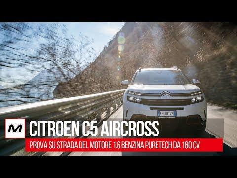 Citroen C5 Aircross: alla PROVA il 1.6 benzina PureTech da 180 CV