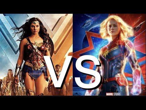 Wonder Woman Und Captain America