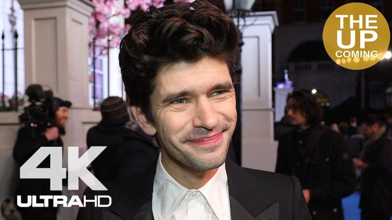Ben Whishaw At Mary Poppins Returns Premiere In London Youtube