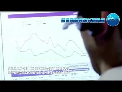 Seabrokers Blink storskjerm - Chartering, SeaSurveillance & Securalift
