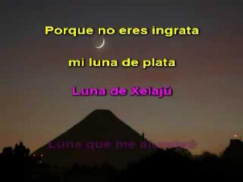 Paco Perez - Luna de xelaju (karaoke)