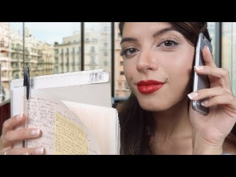 ASMR | 🇫🇷 [Heavy French Accent] 🎥 Getting You Ready For Your Film Role! 🎬 (Secretary Roleplay)