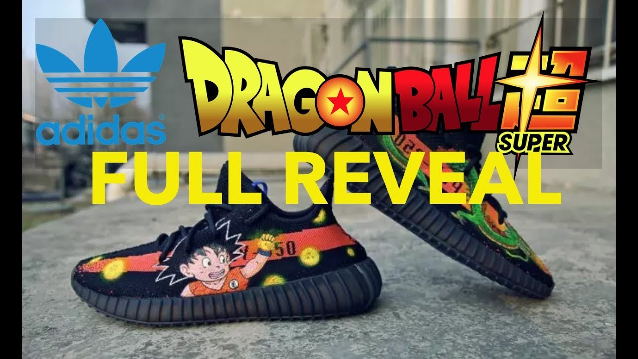 Adidas X Dragon Ball Collab COMPLETE collection REVEAL Ultra Boost Yeezy e81db2fe5