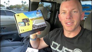 Z-EDGE T4 DUAL DASH CAM REVIEW!