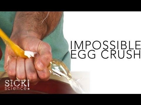 Impossible Egg Crush - Sick Science! #133