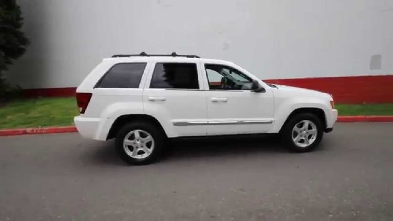 2006 jeep grand cherokee limited | stone white | 6c355380