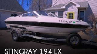 [SOLD] Used 2013 Stingray 194 LX in Suffield, Connecticut