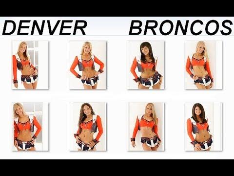 Denver Broncos Cheerleaders 1998