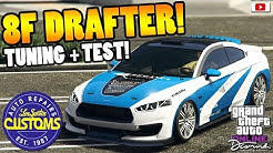 😍🛠Schönstes Auto Vom Update!? 8F DRAFTER Tuning + Test!😍🛠 [GTA 5 Online Diamond Casino Update DLC]