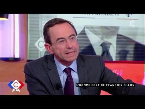 Retailleau : l'homme fort de François Fillon - C à vous - 20/04/2017