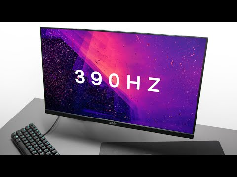 New Fastest Gaming Monitor - Acer Nitro 390Hz