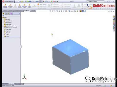 Using Point Cloud data in SolidWorks: Scan to 3D