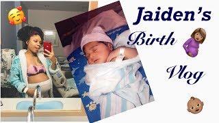 Natural birth vlog 2019!   Baby Jaiden has arrived! 🎊