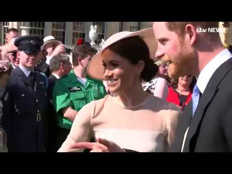Meghan and Harry make first appearance since wedding