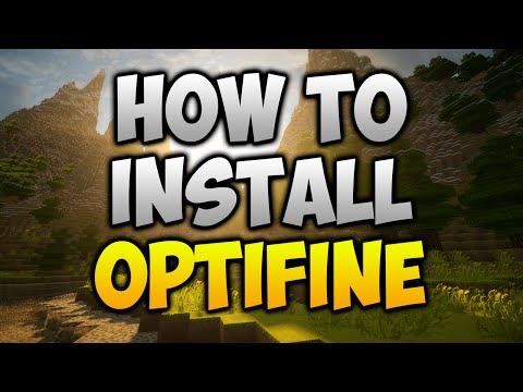 How to install optifine for 1.7.10