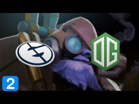 OG vs EG #2 - Bleed Blue Dream Green - Winners Finals Dota Pit 5 Dota 2