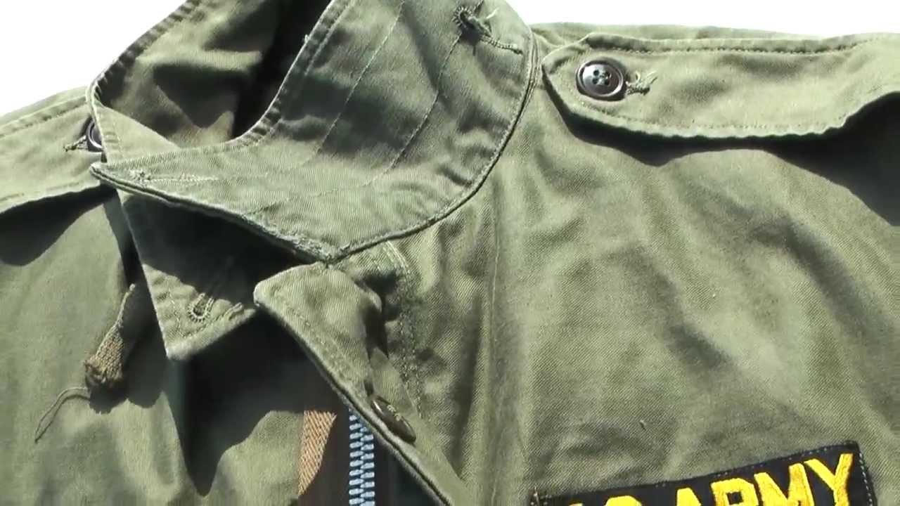 Vintage M-1951 Field Jacket - 1953 - YouTube