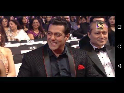Dr Gulati Flirts Aishwarya Rai.Salman Laughing B Awards  2018 new year..must watch
