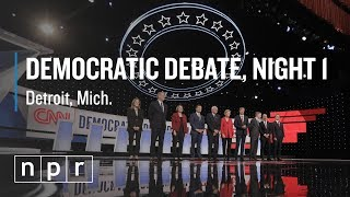 Analysis After Night 1 of Second Democratic Debate | NPR Politics