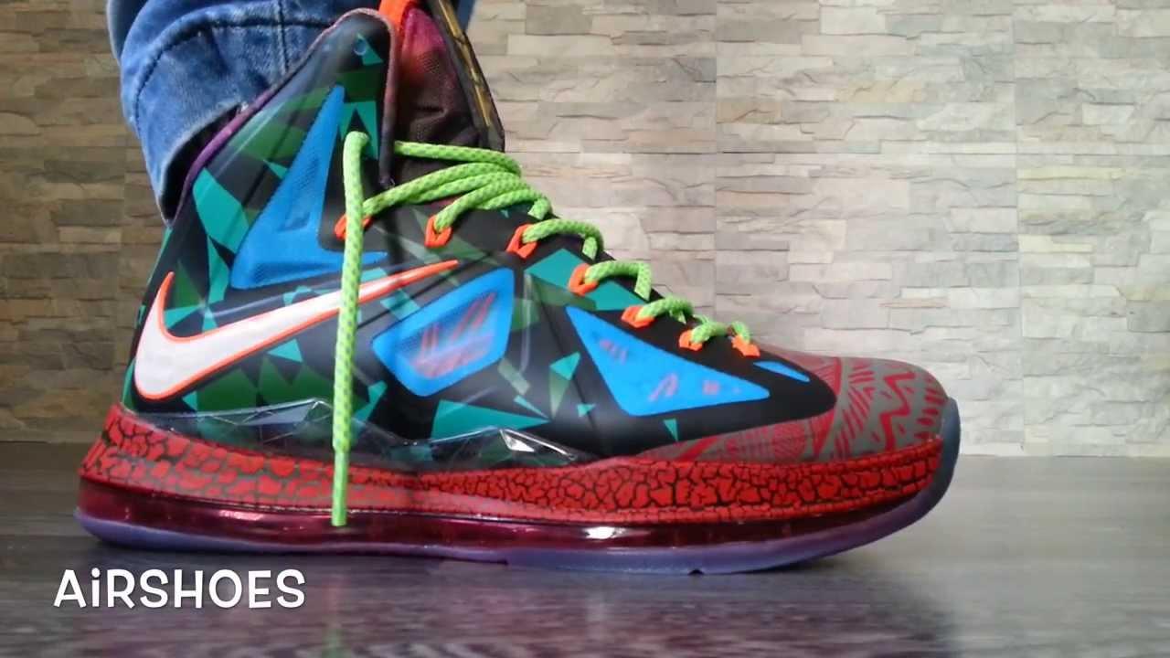 Nike LeBron X MVP on feet ! - YouTube a0136ce35
