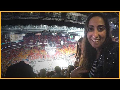 RAQUEL GAMER VLOG: JOGO DE BASQUETE NOS ESTADOS UNIDOS (MIAMI HEAT NBA)