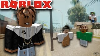 HOW TO BE A GANGSTER IN ROBLOX - ROBLOX THE STREETS PT.9