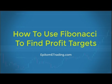 Forex Trading How To Use Fibonacci To Find Profit Targets Youtube
