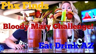 Phx Finds & Eat Drink AZ: Hash Kitchen Bloody Mary Bar