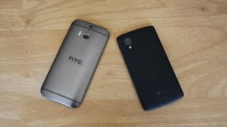 HTC One M8 (2014) vs Nexus 5