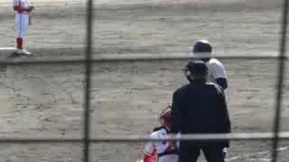 豊田市運動公園内球場でのオープン戦。 トヨタ自動車vs亜細亜大。 4打...