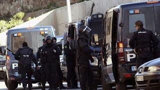 """Detienen a cuatro presuntos yihadistas en Ceuta """"dispuestos a atentar"""""""