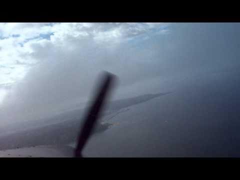 Turbine Otter Through Clouds