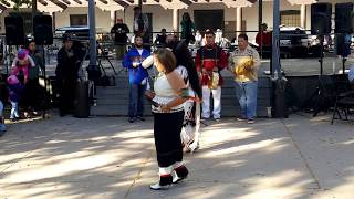 Indigenous Peoples Day Celebration 2017 Pueblo of Pojoaque Dancers and Youth Hoop Dancers Clip 3