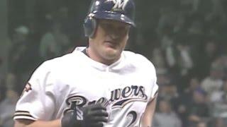 CIN@MIL: Burnitz hits first Brewers Miller Park homer