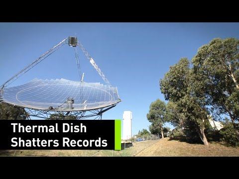 Scientists Just Set A Solar Thermal Energy Record