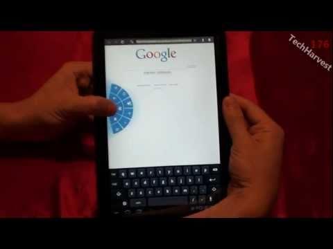 Android Honeycomb Quick Controls