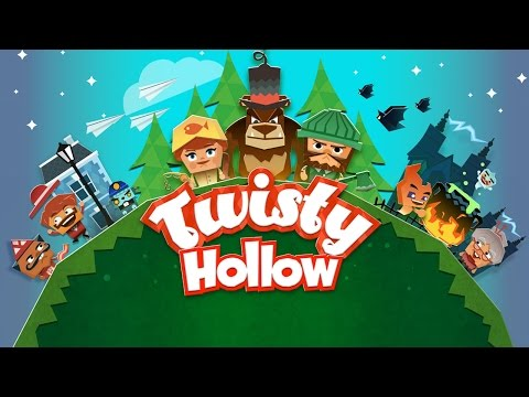 Twisty Hollow! (by Arkadium) - iOS / Android - HD Gameplay Trailer
