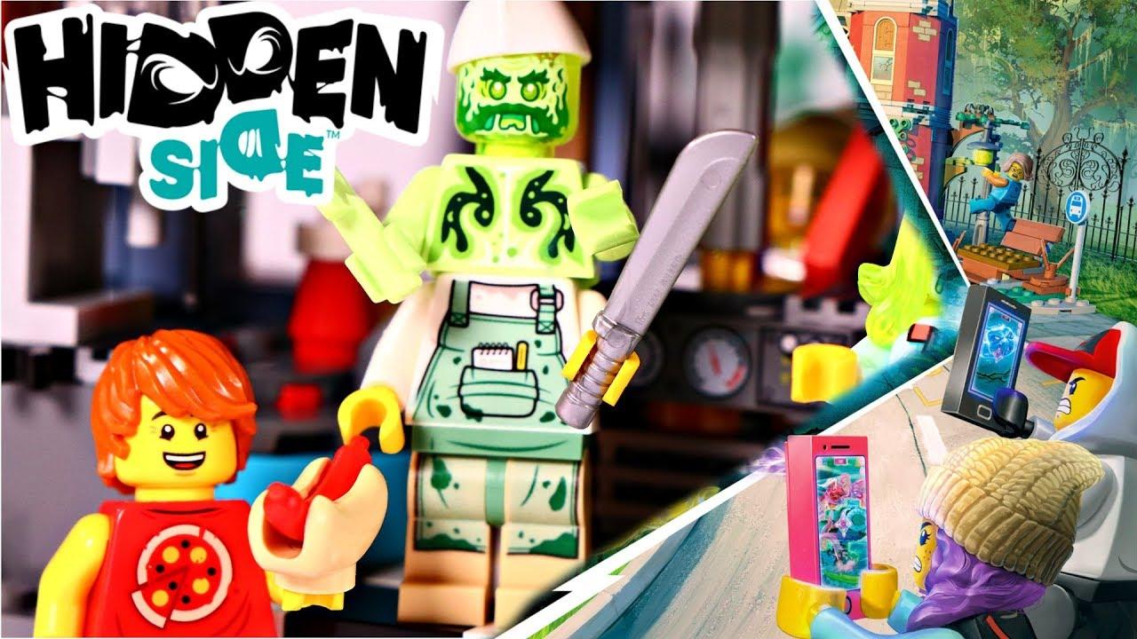 lego hidden side shrimp shack attack diner 70422 speed