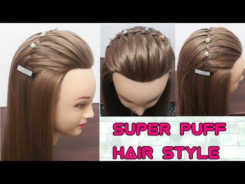 Super Puff Hairstyleeasy And Quick Maderty Hairstylesbonus