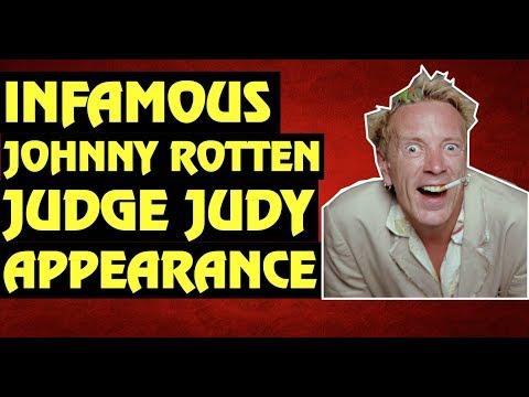 John Lydon (Johnny Rotten's) Infamous Judge Judy Appearance