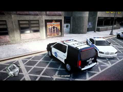 [GTA IV] Review Gameplay MOD PolicePursuit 7.6d