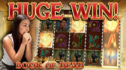 BOOK OF DEAD - HUGE WIN!!