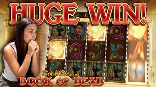 BOOK OF DEAD - HUGE WIN!!