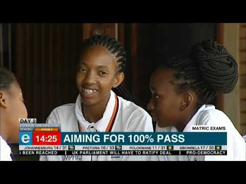 Grade 12 pupils at leap schools aim for 100% pass rate