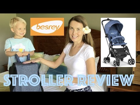 ���� The Perfect Travel Stroller! ���� New, Ultracompact Baby Stroller by Besrey! Review & Details!