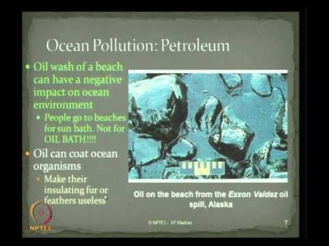 Mod-02 Lec-10 Ocean Pollution