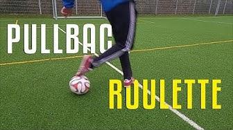 Seltener Dribbel Trick erklärt! - Pullback Roulette - Fußball Trick Tutorial