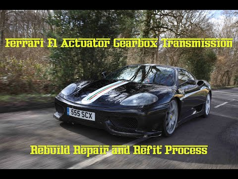 How to Fix a Ferrari 360 F1 Transmission Gearbox Actuator 430 CS Enzo Maserati