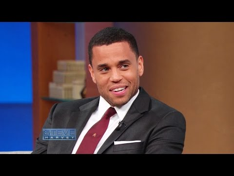 Michael Ealy: When my daughter starts dating…  STEVE HARVEY